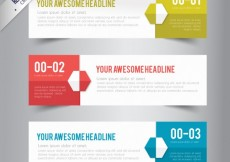 Free vector Banners template pack #5522