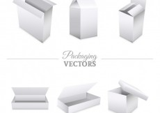 Free vector Blank packagings collection #10691