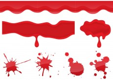 Free vector Blood Dripping Vectors #11978