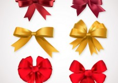 Free vector Bows for present #6702