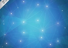 Free vector Bright polygonal background #11765