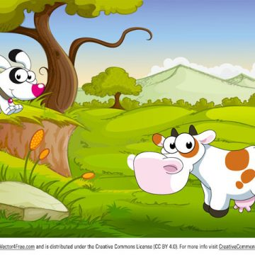 Free vector Cartoon Farm Animals #5473