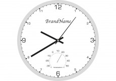 Free vector Clock Vector with Thermometer #8922
