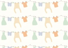 Free vector Clothes Pattern Background #11259