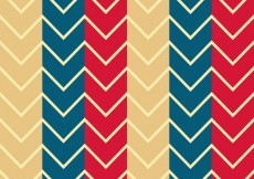 Free vector Colored zig zag pattern #6782