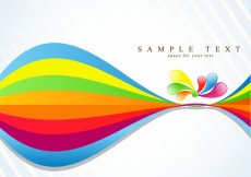 Free vector Colorful and wavy abstract background #10512