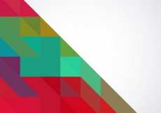 Free vector Colorful background with triangles #6834