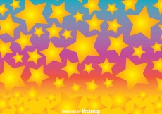 Free vector Colorful Fun Star Background Vector #8112