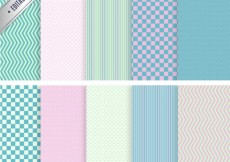 Free vector Colorful geometric patterns #11789