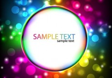 Free vector Colorful Glowing Design #5092
