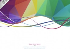 Free vector Colorful polygons background #11751