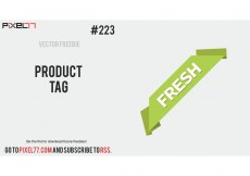 Free vector Corner Ribbon Vector – Free Vector of the Day #223: Product Tag #8417