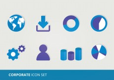 Free vector Corporate Vector Icons #10648