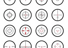 Free vector Crosshairs collection #8478
