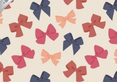 Free vector Cute bows pattern #6717