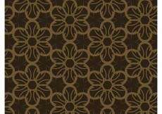 Free vector Dark Floral Pattern #9865
