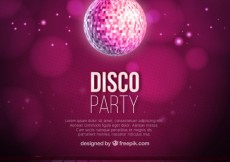 Free vector Disco party background #11641