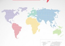 Free vector Dotted world map #8989