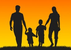 Free vector Family silhouettes #7618