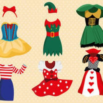 Free vector Fancy Dress Costume Vector Pack #4419