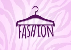 Free vector fashion lettering #6272