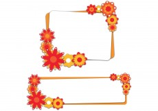 Free vector Flowers Banners Vector #9487