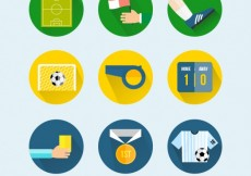 Free vector Football icons #4585