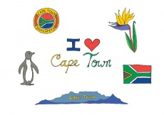Free vector Free Cape Town Vector Series #10292