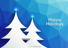 Free vector Free Happy Holidays Vector Background #7080