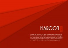 Free vector Free Maroon Paper Layers Vector Background #11896
