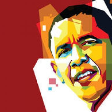 Free vector Free Obama Vector Portrait Two #4687