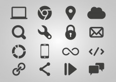 Free vector Free SEO And Internet Icon Vector #4393