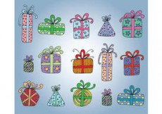 Free vector Free Vector Gift Boxes #4730