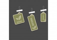 Free vector Free Vector of the Day #152: Eco Tags #8547