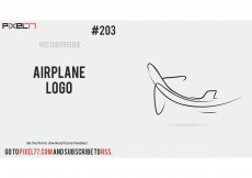 Free vector Free Vector of the Day #203: Airplane Logo #8473