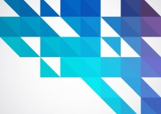 Free vector Geometrical background in blue tones  #6751