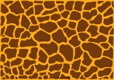 Free vector Giraffe Print Background #12080