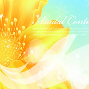 Free vector Golden flowers banners #5991