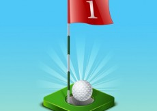 Free vector golf game #7231