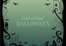Free vector Halloween scary background #8031