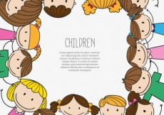 Free vector Hand drawn children background #11394