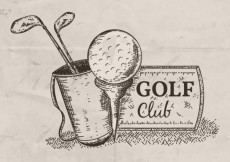 Free vector Hand drawn golf club illustration #7493