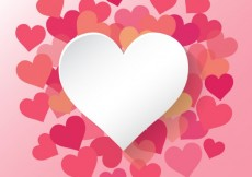 Free vector Hearts collection #5933