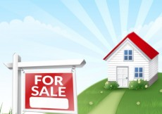 Free vector House for sale #4113