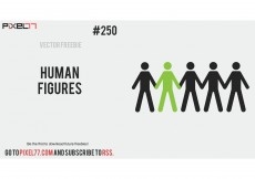 Free vector Human Vector Figures – Free Vector of the Day #250 #8413