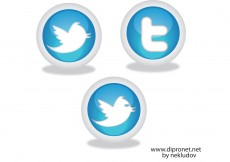 Free vector Icons Twitter Vector Beta1 #8656
