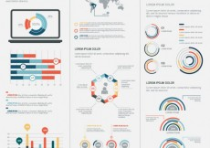 Free vector Infographic template #7616