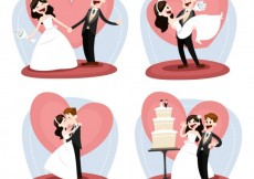 Free vector Just married #9448