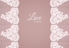 Free vector Lace background in ornamental style #6106