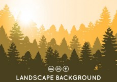 Free vector Landscape background #9821
